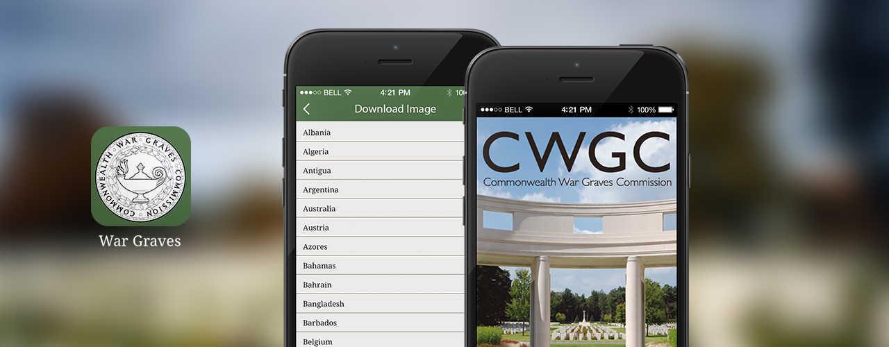 CWGC banner